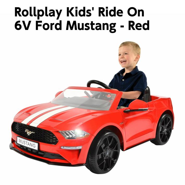 【お買い物マラソン 全品ポイント5倍!】【送料無料】Ford Mustang フォード マスタング バッテリーカー6V Battery キッズ プレゼント 電動ミニカー ミニカー 電動乗用 電動カー