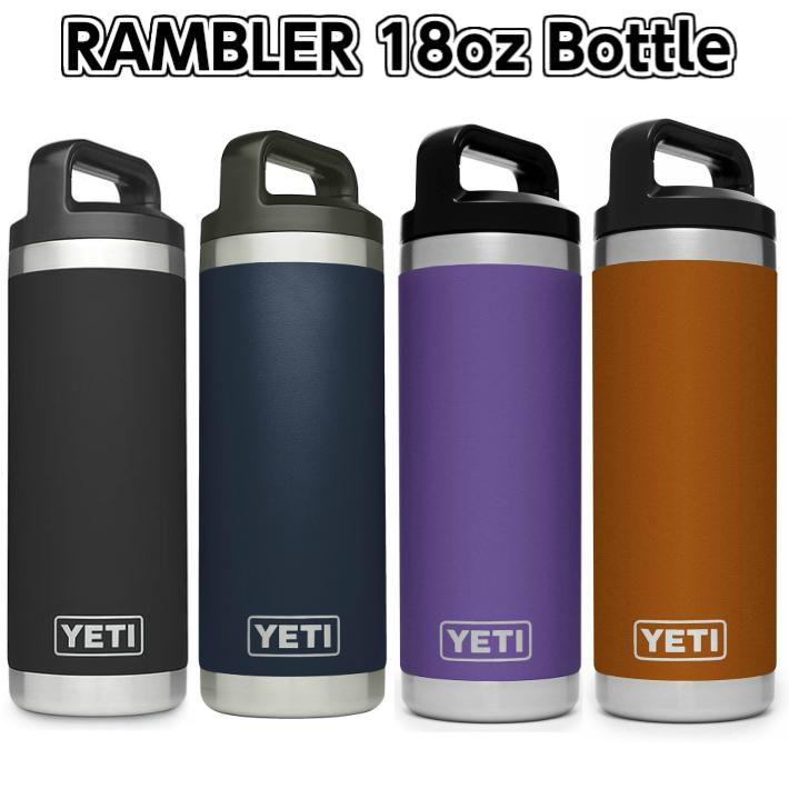 新色入荷しました 在庫一掃売り切りセール 送料無料 YETI RAMBLER 18oz BOTTLE イエティ ステンレス アウトドア キャンプ ボトル ランブラー 直営店 釣り
