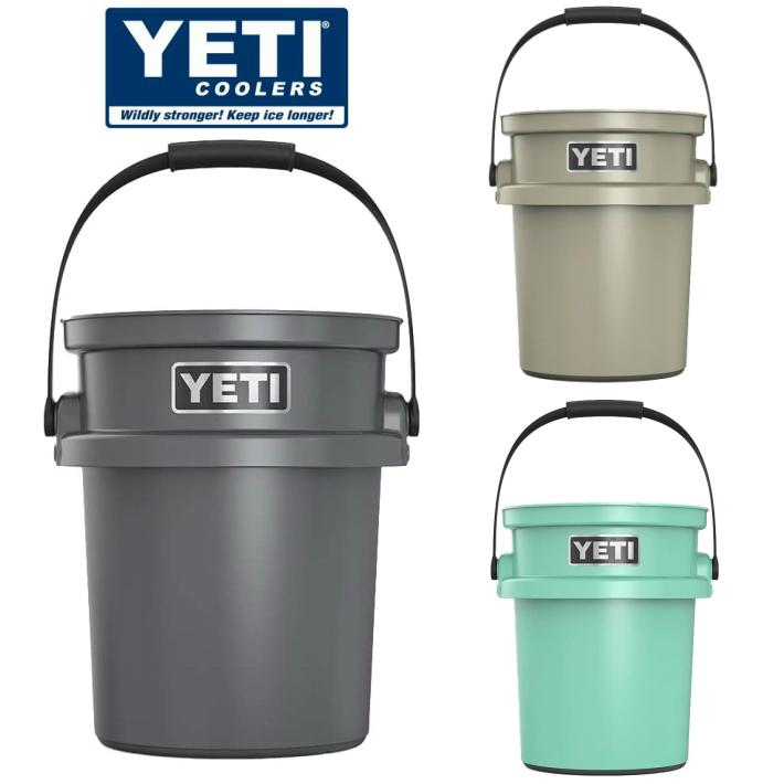 【送料無料】YETI Coolers イエティクーラーズ LOAD OUT BUKET ロードアウトバケツ 5-ガロン バケツ アウトドア キャンプ