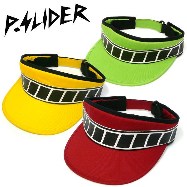 パーマネントスライダー PERMANENT SLIDER STROBO LINE VISOR CAP サンバイザー RED MOTEL レッドモーテル RALEIGH デザイン