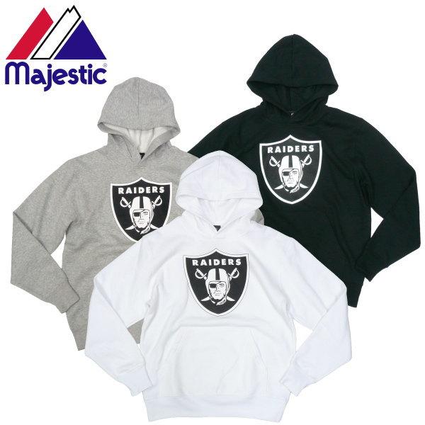 c690f9bcb33 Majestic majestic RAIDERS hoodies OAKLAND Raiders American Football NFL  official ceremony