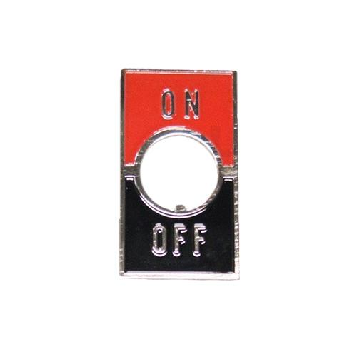 メーカー再生品 メーカー直送 ユーボン ST-1 ON-OFF トグルスイッチ用銘板