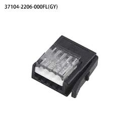在庫品 ユーボン 37104-2206-000FL(GY)100個入り AWG22-20 E-CON e-CON(ミニクランプ ) 4極