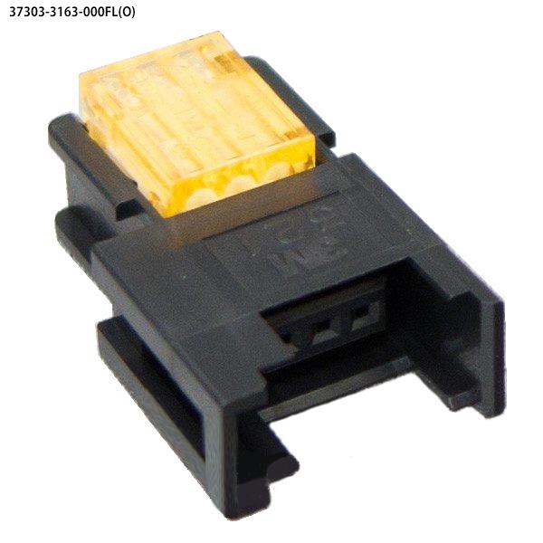ユーボン 37303-3163-000FL(O) 100個入り AWG24-26 3P ミニクランプ 3極 中継用