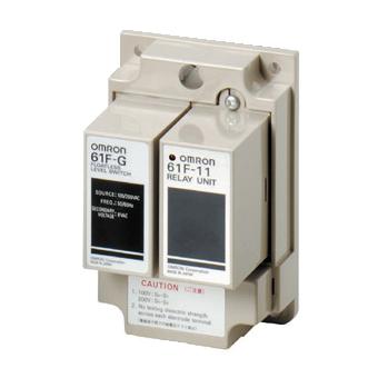 オムロン 61F-G 割引 AC100 200 フロートなしスイッチ 自動給 一般用 ベースタイプ 商店 61F-Gベース×1+61F-11ユニット×1 排水