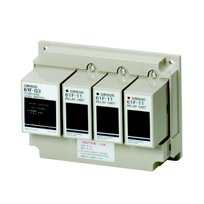 オムロン 61F-G3 AC100/200 フロートなしスイッチ ベースタイプ(一般用) 満水・渇水警報を兼ねた自動給・排水 (61F-G3ベース×1+61F-11ユニット×3)