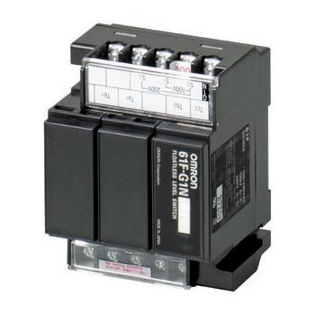 オムロン 61F-G1N AC100/200 フロートなしスイッチ コンパクトタイプ(一般用) 空転防止または渇水警報を兼ねた自動給水 (61F-G1Nベース×1+61F-11Nユニット×2)