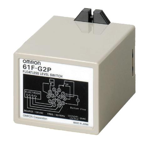 オムロン 61F-G2P AC100 フロートなしスイッチ プラグインタイプ (一般用) 14ピンタイプ 増水警報を兼ねた自動給・排水