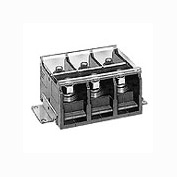 在庫品 IDEC BN600NW3K 大容量形 直接取付形端子台 ターミナルブロック (スタッド形) 3極 定格520A 端子ネジM14