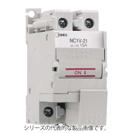 IDEC お気にいる NC1V-2100F-10AA NC1V形サーキットプロテクタ 電流引外し 2極 定格電流10A 中速形 期間限定で特別価格 イナーシャルディレー有 ねじ端子