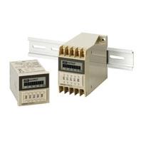 オムロン H3CA-A ソリッドステート・タイマ 表面取付/ 埋込み取付(共用) フリー電源 48×48mm 8動作モードマルチ 11Pソケット接続 0.1s~9990h 接点出力リレー1c(限時)