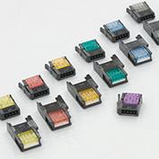 在庫品 ユーボン e-CON(ミニクランプ ) 4極 37304-3101-000FL(R)100イリ AWG26-24 エンチョウ