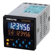 北陽電機 DC-JB6-AW AC100~240V 1プリセットカウンタ 6桁 表示色:白 48x48mm 外部リセット(最小リセット時間:50ms)、 手動リセット、 自動リセット
