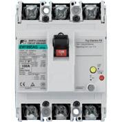 富士電機 EW100EAG-3P100K 漏電遮断器(高速形) 3極 定格電流100A 定格感度電流100/200/500mA(切替)