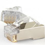 在庫品 MPS588-C パンドウイット カテゴリ5E モジュラープラグ 単線、撚り線兼用 100個入
