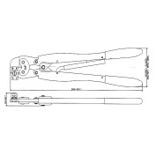 TE Connectivety (AMP)工具 1463260-1 DAHT-L FOR 025 TAB/REC