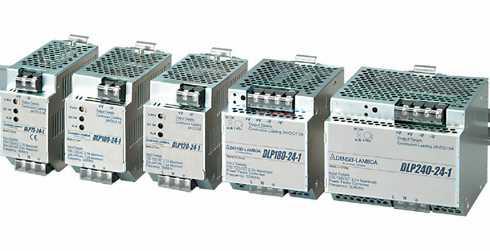 TDK-Lambda DLP180-24-1 スイッチング電源 ユニット型 入力AC85V~265V・DC120~370V 出力DC24V180W ケースカバー付 DINレール対応