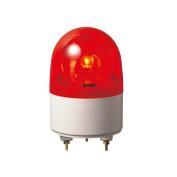 パトライト ブザー付き小型回転灯 RHB-100A-R AC100V