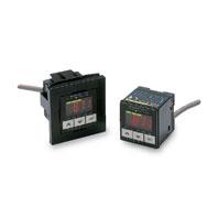 在庫品 オムロン E8F2-AN0C デジタル圧力センサ本体 電源電圧DC12~24V 負圧 0~-101kPa オープンコレクタ(独立2出力) リニア出力1~5V NPN出力 コード引き出しタイプ (標準コード長2m)