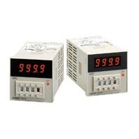 オムロン H5CN-XCN AC100-240 48×48mm 設定時間範囲 1s~5999s 出力1c 8ピンソケット 表面取付、埋込取付共用 クォーツタイマ