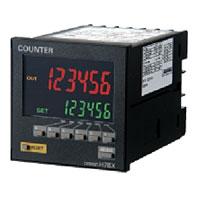 在庫品 オムロン H7BX-AW プリセットカウンタ/タコメータ 72×72mm 2段設定 6桁 AC100~240V 30Hz/10kHz(切替) EEP-ROMによるバックアップ リセットキー ねじ締め端子