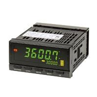 オムロン K3HB-RNB-A AC100-240 回転パルスメータ 96×48mm NPN/電圧パルス入力タイプ 出力なし ねじ端子