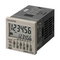 オムロン H7CZ-L8D1 1段プリセット電子カウンタ 48×48mm 6桁 AC24V 10kHz 30Hz 8ピンソケット 接点出力1c 現品 DC12~24V 切替 新生活