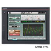 三菱電機 GT2712-STBA グラフィックオペレーションターミナル表示器 12.1型TFTカラー液晶 メモリ57MB 入力電源電圧AC100~240V RS-422/485 1ch(D-Sub9ピンメス) RS-232 1ch(D-Sub9ピンオス) USB(Mini-B/TYPE-A)各1ch Ethernet(RJ45)SDカードスロット