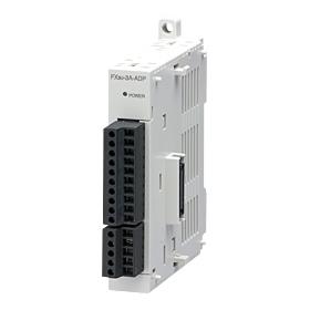 在庫品 三菱電機 FX3U-3A-ADP MELSEC-F FX3Uシリーズ シーケンサ用アナログ入出力アダプタ (アナログ入力2ch/アナログ出力1ch)