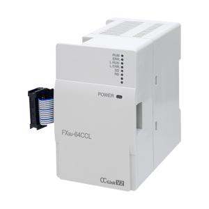 三菱電機 FX3U-64CCL CC-Linkシステムインタフェースブロック