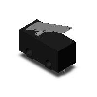 オムロン D2F-L-D 極超小形基本スイッチ ヒンジレバー形 はんだ付け小形端子 定格3A 1.47N OUTLET SALE 接点構成1c 正規品送料無料