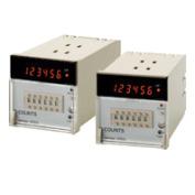 在庫品 オムロン H7AN-4DM AC100-240 プリセットカウンタ 72×72mm 1段設定 4桁 AC100~240V 不揮発性メモリ リセットキー ねじ締め端子