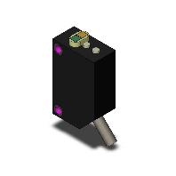 オムロン E3Z-LR61 2M アンプ内蔵形光電センサ レーザタイプ 回帰反射形(MSR機能付き) 検出距離15m(E39-R1使用時) 入光時ON/遮光時ON(切替式) NPN出力 コード引き出しタイプ(2m)