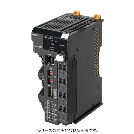 在庫品 オムロン NX-ECC202 NXシリーズ EtherCATカプラユニット 通信周期250~4000μs IO電源最大電流10A 電源電圧DC24V EtherCAT通信用(RJ45×2) Sysmac Studio接続用(USB2.0) スクリューレスクランプ端子台