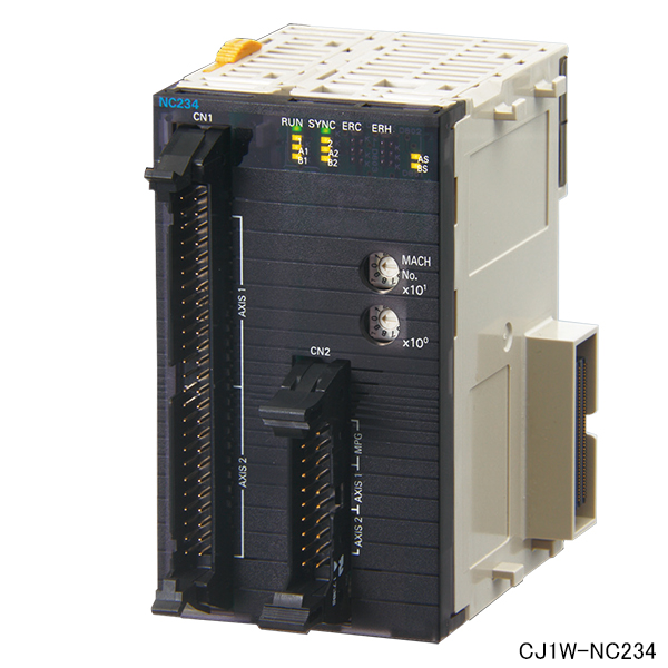 在庫品 オムロン CJ1W-NC234 位置制御ユニット(高速タイプ) パルスカウンタ機能内蔵パルス列ラインドライバ出力タイプ 2軸