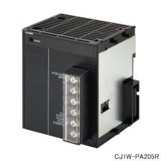 オムロン CJ1W-PA205R SYSMACCJシリーズAC電源ユニット 電源電圧AC100~240V 出力容量DC5V(5A) DC24V(0.8A) 合計25W 運転中出力付