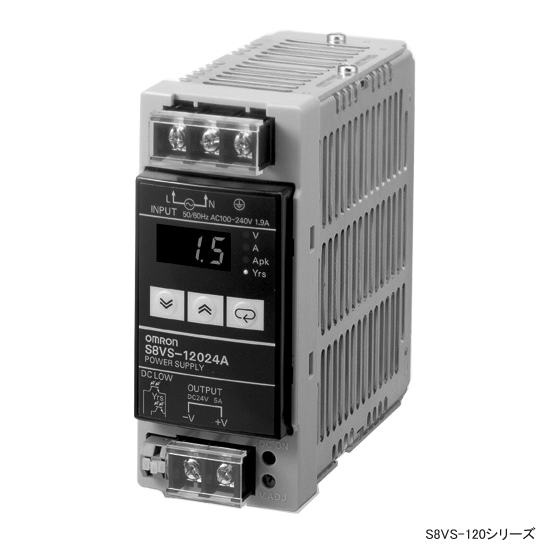 オムロン S8VS-09024 ユニット電源 標準タイプ 入力AC100-240V 90W 24V3.75A出力