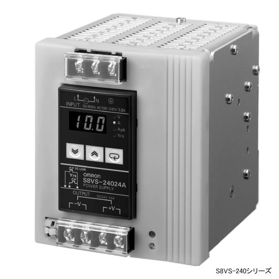 在庫品 オムロン S8VS-24024B スイッチング・パワーサプライ 積算稼働時間モニタ付タイプ 入力AC100-240V 在庫品 入力AC100-240V オムロン 240W 24V10A出力, メイワチョウ:3f9bb901 --- bulkcollection.top