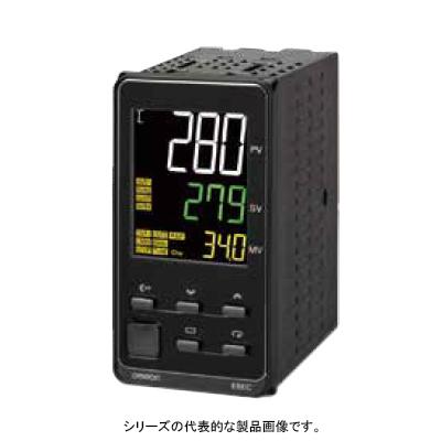 在庫品 オムロン E5EC-QX4ABM-008 温度調節器(デジタル調節計) 48×96mm AC100-240V アナログ入力1点 制御出力 電圧(SSR駆動用)1点 補助出力4点 CT1点 イベント入力2点 通信RS-485