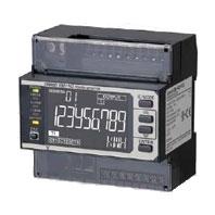 オムロン KM-N2-FLK 電力量モニタ 適用相線式:単相2線式、単相3線式、三相3線式、三相4線式 RS-485通信 パルス出力 プッシュインPlus端子台