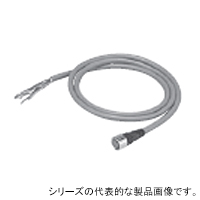 在庫品 オムロン F39-JD7A 片側コネクタコード M12コネクタ(8ピン)-バラ線8本(シールド線) 7m