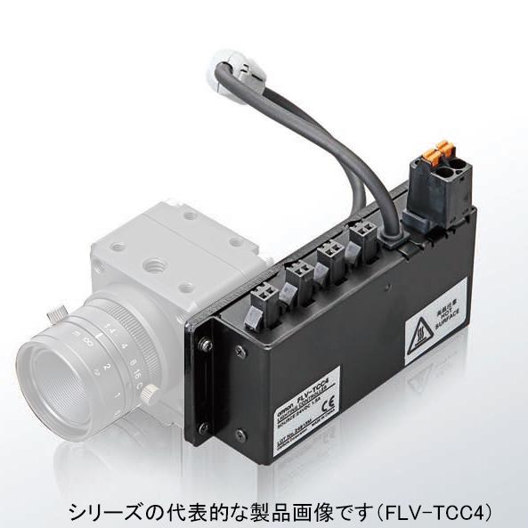在庫品 オムロン FLV-TCC1 カメラ取付照明コントローラ FLVシリーズ用 1台用