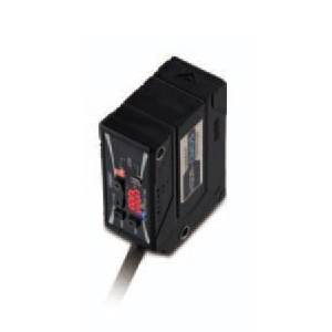 オムロン ZX0-LD100A61 2M アンプ内蔵CMOSレーザセンサ本体 コード引き出しタイプ NPN出力 検出距離 100mm コード長2m