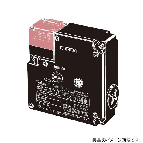 オムロン D4NL-1DFA-BS 小形電磁ロック・セーフティドアスイッチ 一般型キー メカロック/ソレノイドリリース Pg13.5 ※操作キーは別売