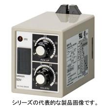 在庫品 オムロン SDV-FH6 ボルティジ・センサ 単動作形 制御電源電圧AC100/110V 入力:直流および交流用(スイッチによる切換) 動作値整定範囲 10~300V(4レンジ) 8ピン プラグイン端子