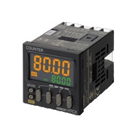 オムロン H7CX-A11D1-N 1段プリセットカウンタ / トータルプリセット電子カウンタ 48×48mm 1段設定 6桁 DC12~24V/AC24V 無電圧入力/電圧入力(切替) 加算、減算、加減算  指令/個別/位相差入力  接点出力  30Hz/5kHz(切替) 停電記憶 リセットキー 11ピン