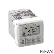 オムロン H5F-B 48×48mm AC100~240V50/60Hz(共用) 有接点1aAC250V15A 端子台 英文仕様 埋込み取りつけ デジタル・デイリータイムスイッチ