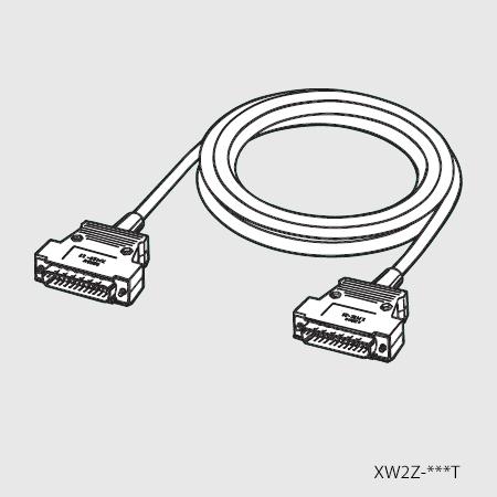 在庫品 オムロン XW2Z-500T SYSMAC上位リンク用ケーブル(プログラマブルコントローラ対応RS-232Cケーブル) D-Sub9ピンプラグ⇔D-Sub9ピンプラグ 5m
