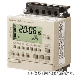 オムロン H5S-WFA2D 72×72mm DC24V 週間2chタイプ 和文表記形式 表面取りつけ デジタル・タイムスイッチ