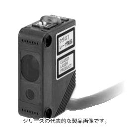 在庫品 オムロン E3Z-LL61 2M アンプ内蔵形光電センサ(レーザタイプ) 距離設定形 検出距離20~300mm 入光時ON/遮光時ON(切替式) NPN出力 コード引き出しタイプ(2m)